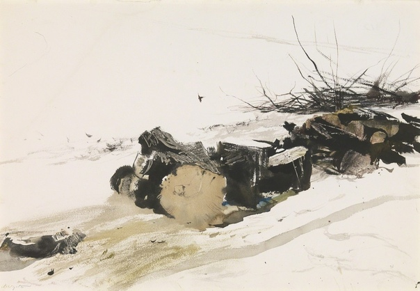 Э́ндрю Нью́элл Уа́йет (англ. Andrew Newell Wyeth, 1917 - 2009)