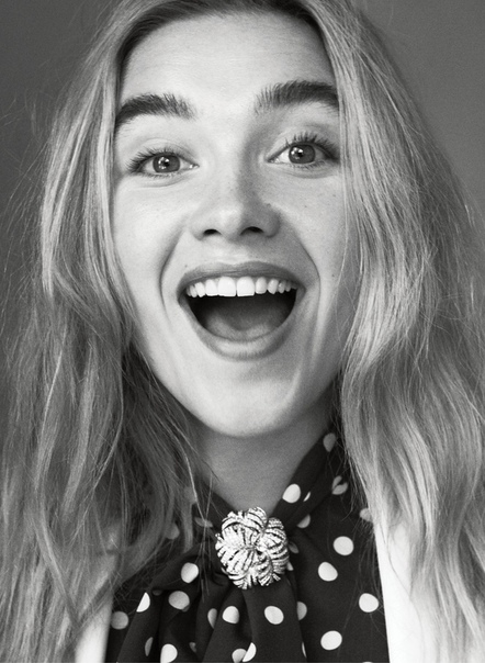 Florence Pugh for Vogue