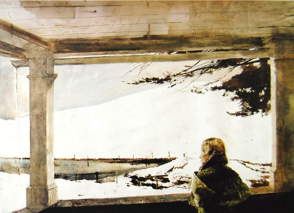 Э́ндрю Нью́элл Уайет (англ. Andrew Newell Wyeth, 1917 - 2009).