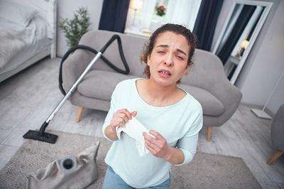 Уборка в доме аллергика – о чем нужно помнить?